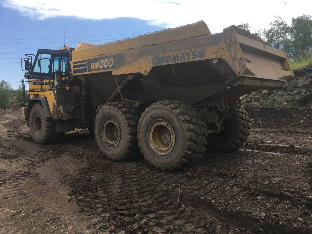 Komatsu HM300-3  (2pc), Articulated Dump Trucks (ADTs), Construction