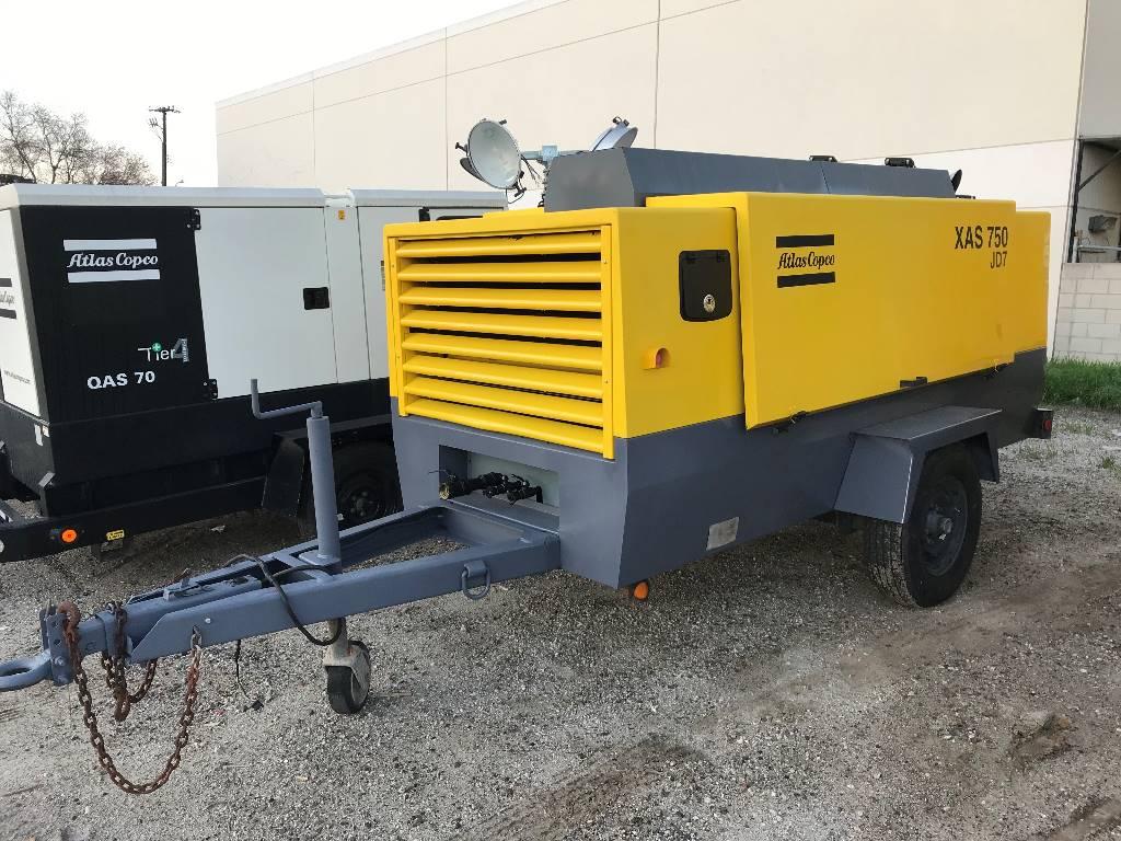 Atlas Copco XAS 750 CD6 (Refurb), Compressors, Construction
