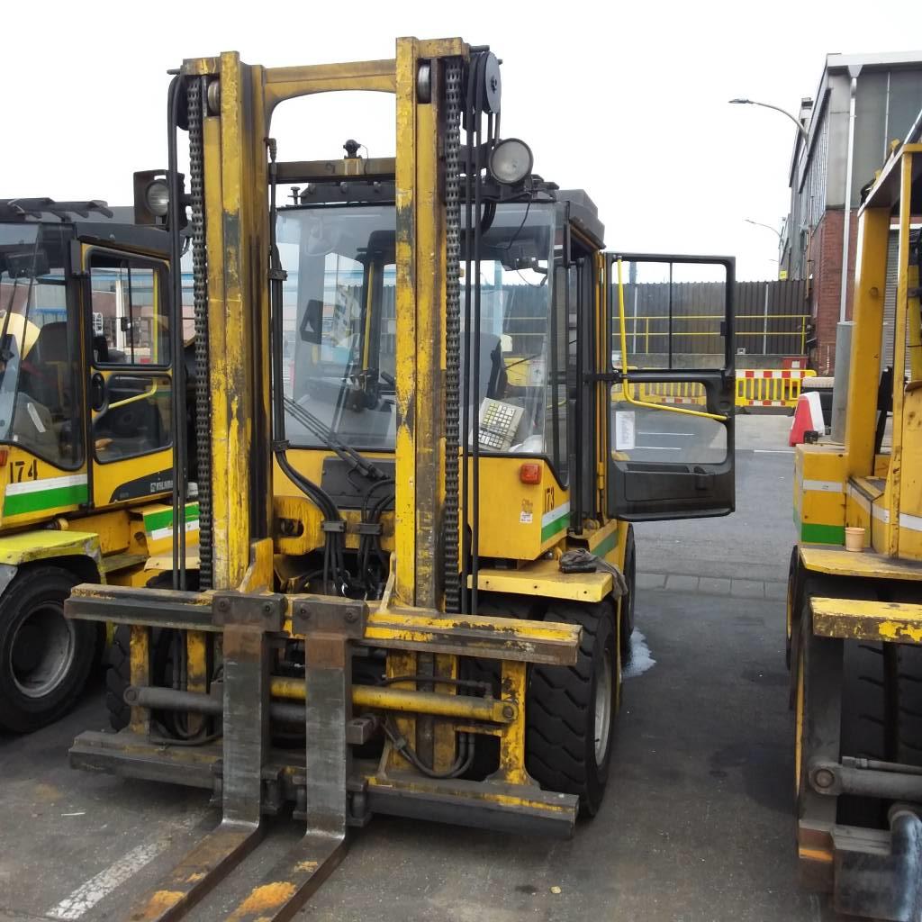 Kalmar DCE70-6, Diesel trucks, Material Handling