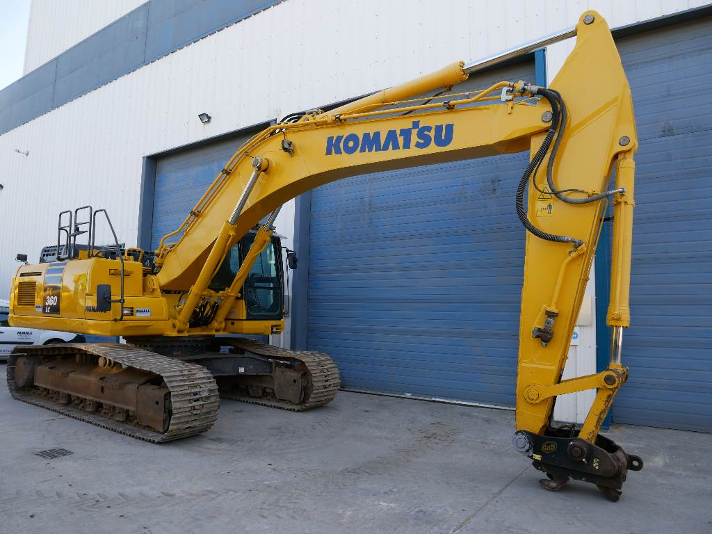 Komatsu PC360LC-10, Crawler Excavators, Construction Equipment