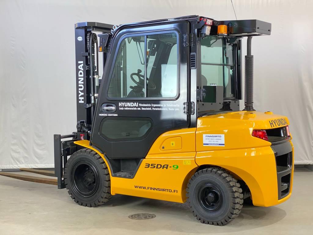 Hyundai 35DA-9 TARJOUSHINTA!, Dieseltrukit, Materiaalinkäsittely