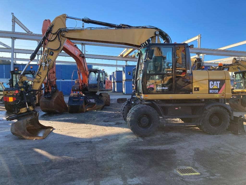 Caterpillar M 313 D, Hjulgrävare, Entreprenad