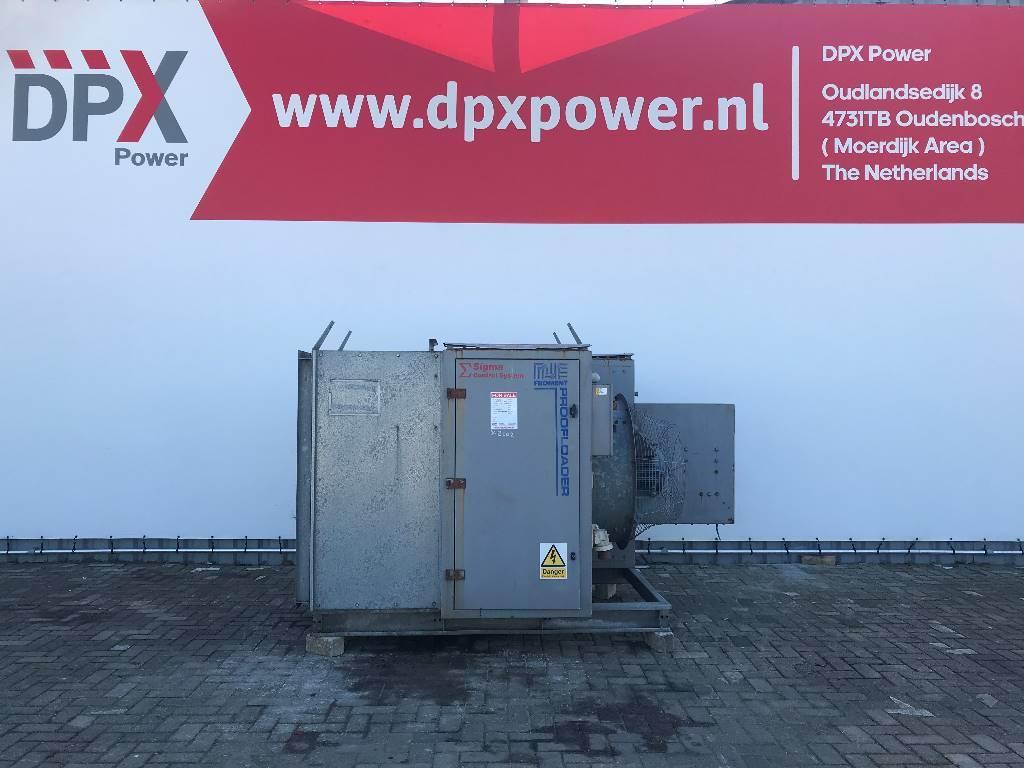 [Other] Froment Proofloader 1328 kW - Loadbank - DPX-11844, Overige generatoren, Bouw