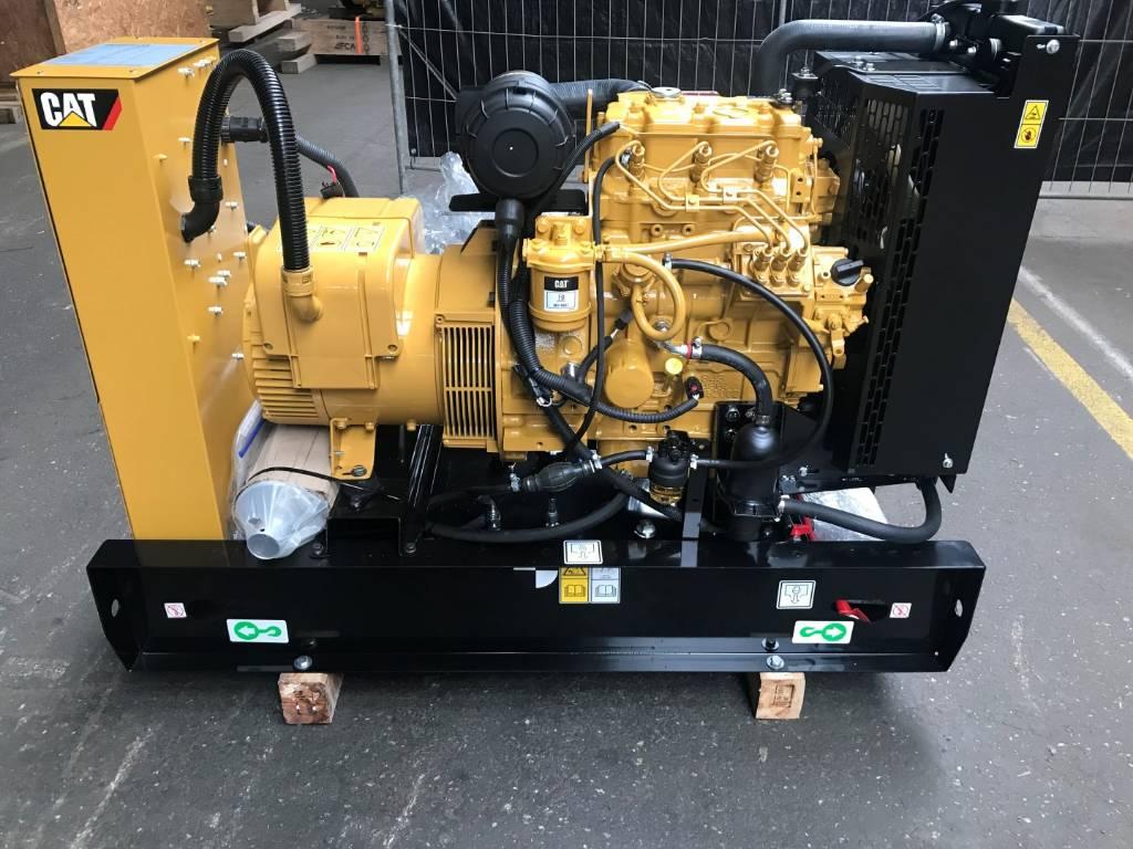 Caterpillar Generator - DE13 5E3 - 13 5 kVa - Diesel