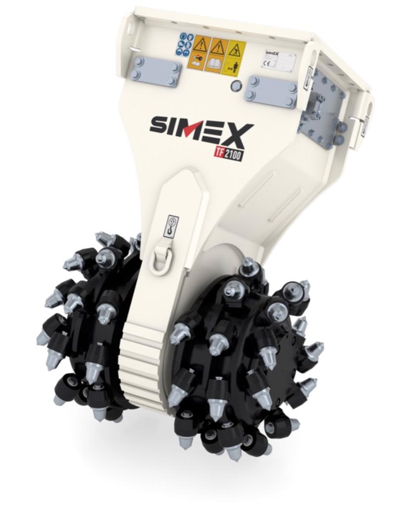 Simex TF450, Jyrsimet, Maarakennus