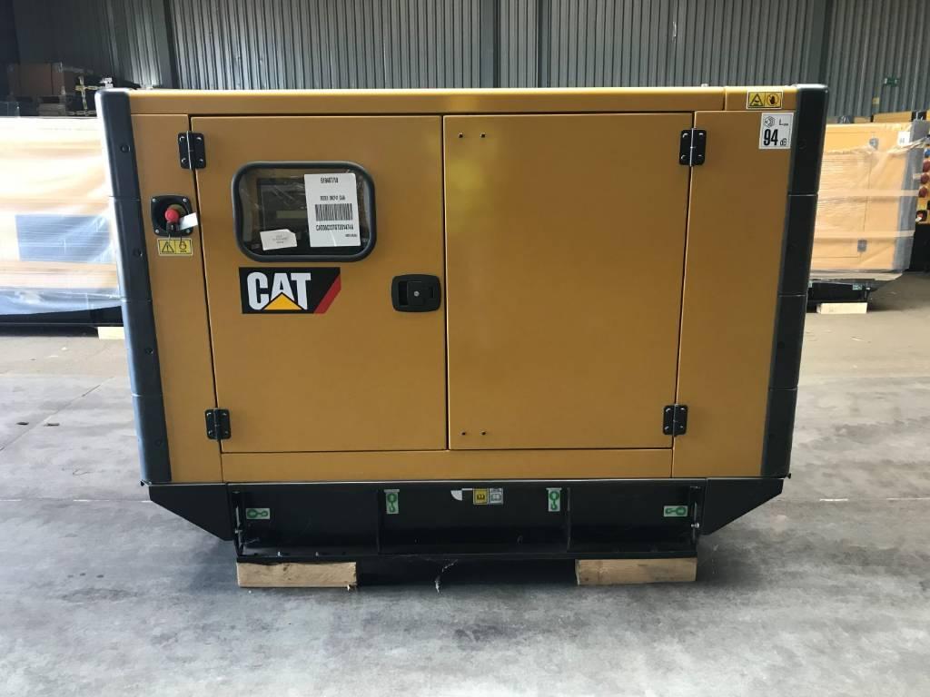Caterpillar - C3.3 E0 - Generator Set 65 kVa - DPH 98004, Diesel Generators, Construction
