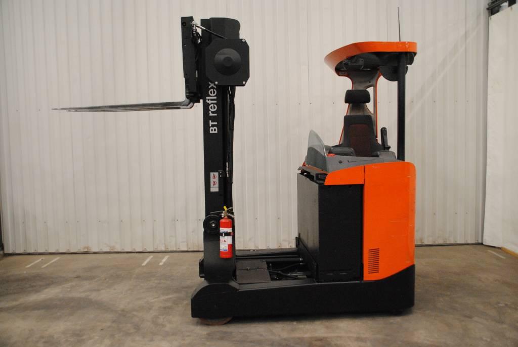 BT RRE 200, Skjutstativtruck, Materialhantering