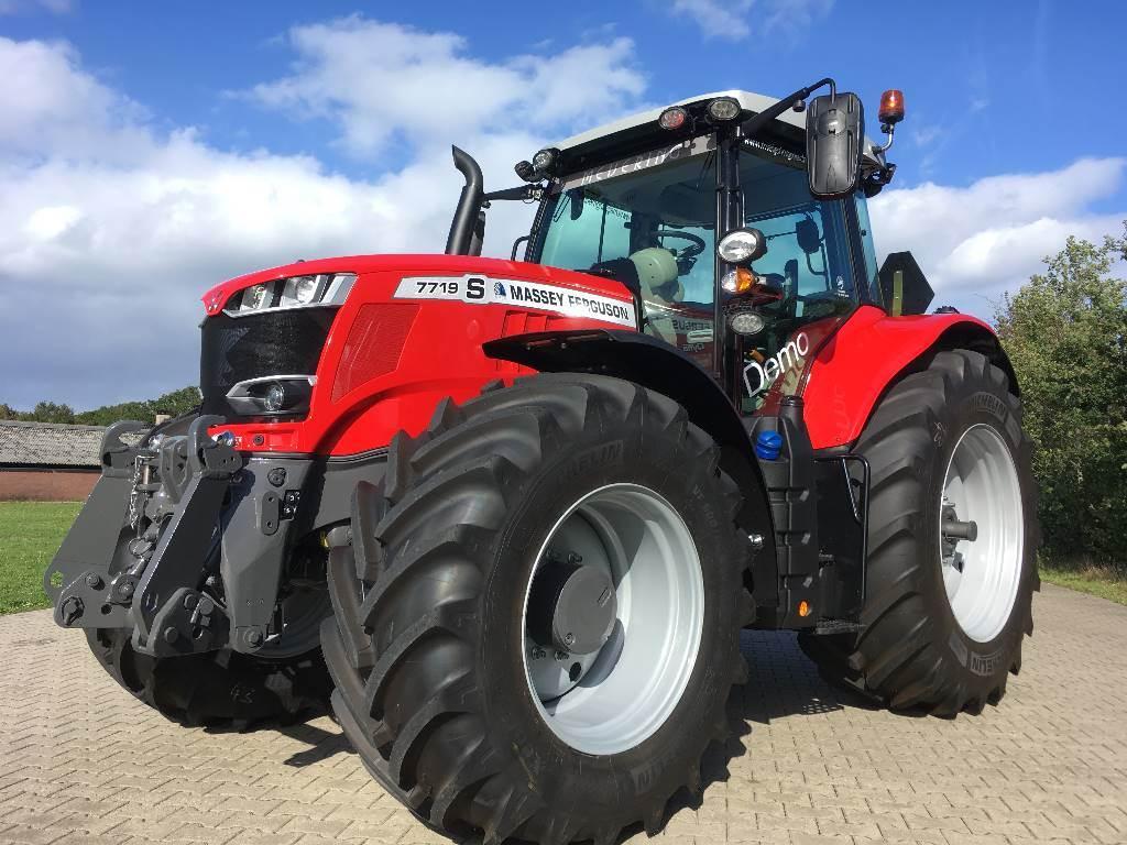 Massey Ferguson 7719S Dyna- VT Exclusive Stage 5, Tractoren, Landbouw