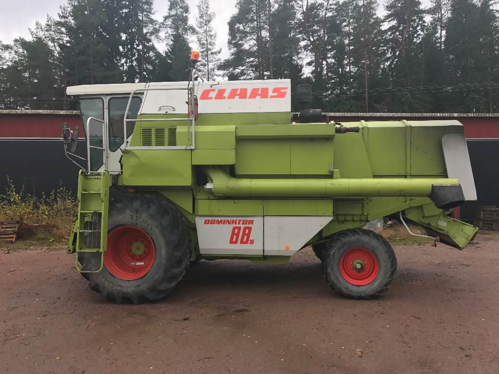 CLAAS Dominator 88 S, Leikkuupuimurit, Maatalouskoneet