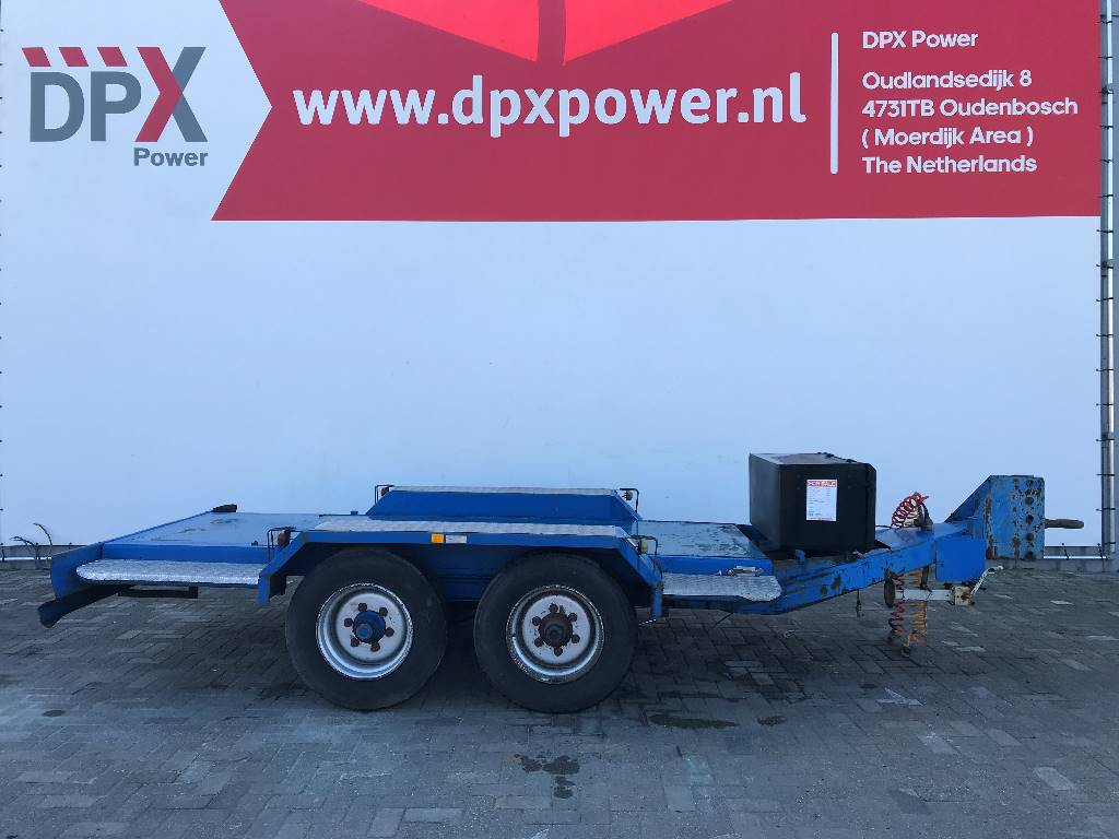 [Other] Miloco Heavy 5 Ton used Trailer - DPX-99059, Anders, Bouw