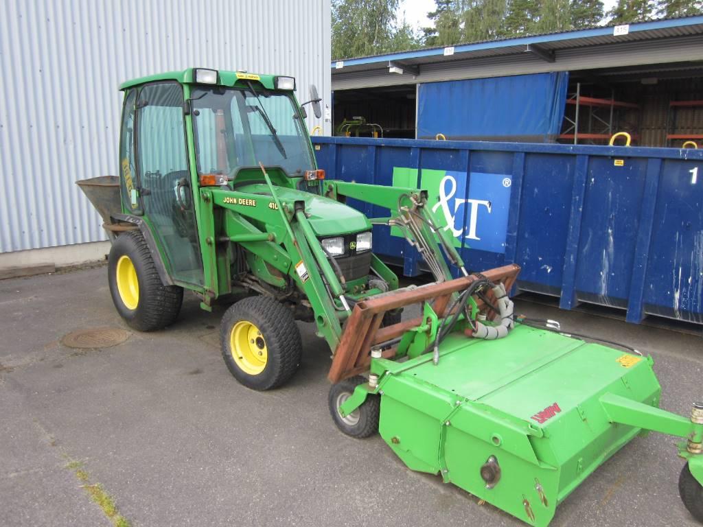 John Deere 4110, Traktorit, Maatalouskoneet