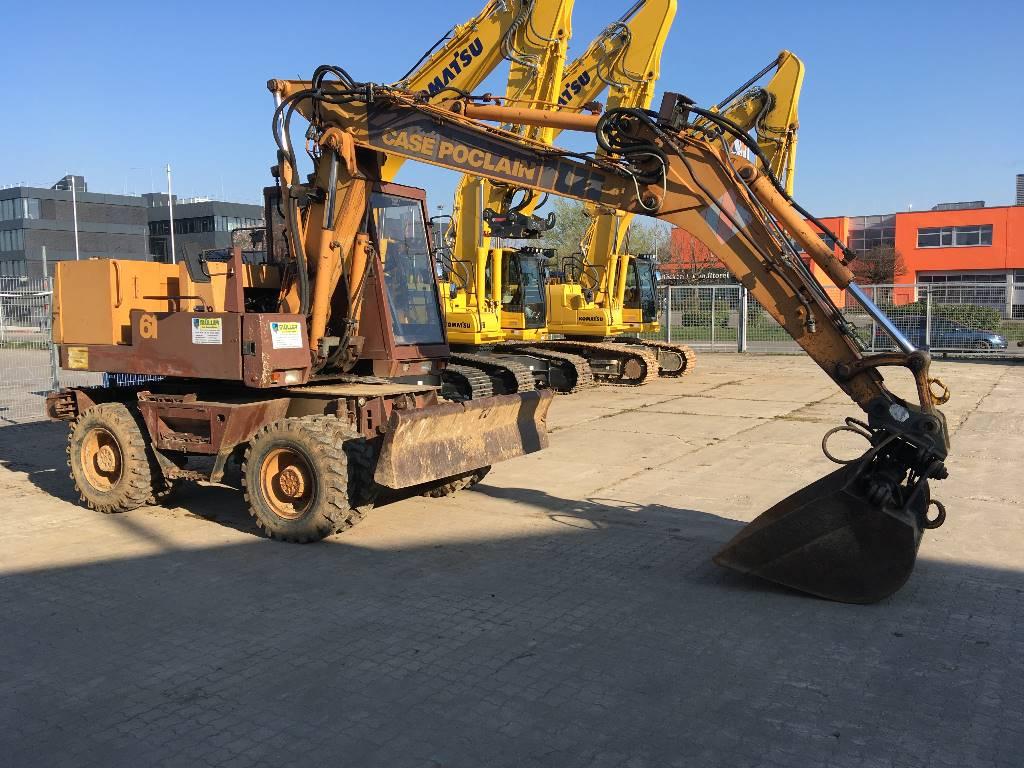Case Poclain 61P, Wheeled Excavators, Construction Equipment