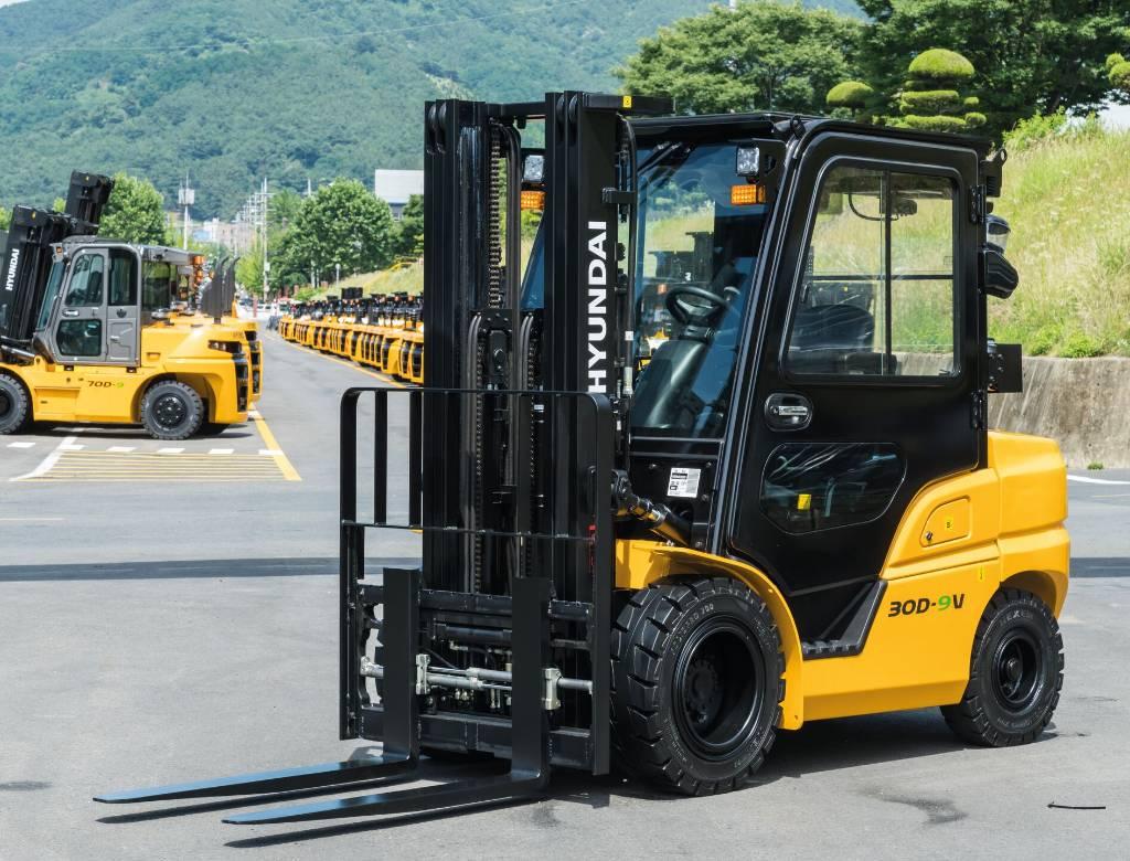 Hyundai 35DN-9V *UUSI MALLISARJA*, Diiseltõstukid, Materjalikäsitlus