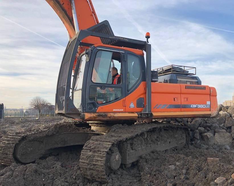 Doosan DX 380 LC, Crawler Excavators, Construction Equipment