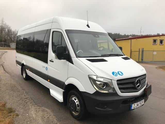 Mercedes-Benz Sprinter 519 buss 19 pass Lift, Minibussar, Övriga fordon