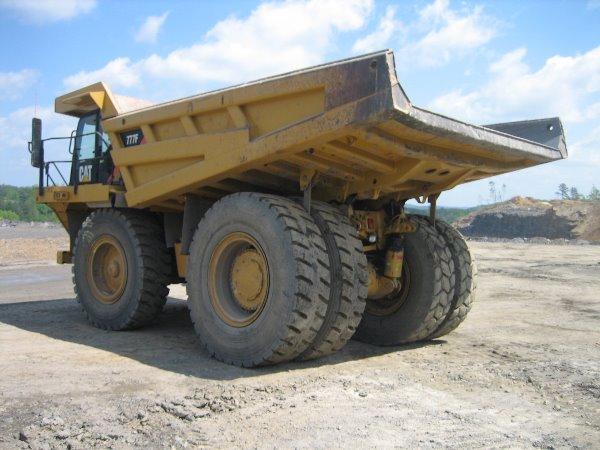 Caterpillar 777F H303, Rigid dump trucks, Construction Equipment
