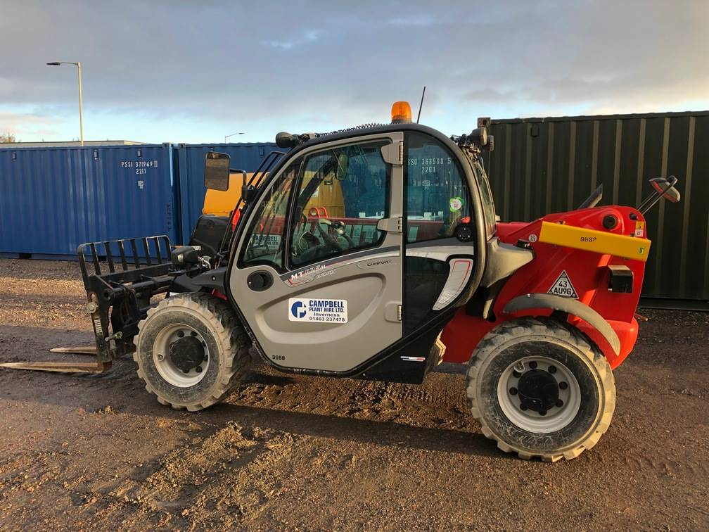 Manitou MT 625 H, Telescopic handlers, Construction