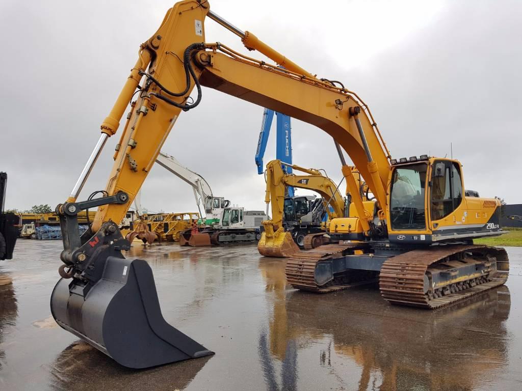 Hyundai Robex 290 LC-9, Crawler Excavators, Construction Equipment