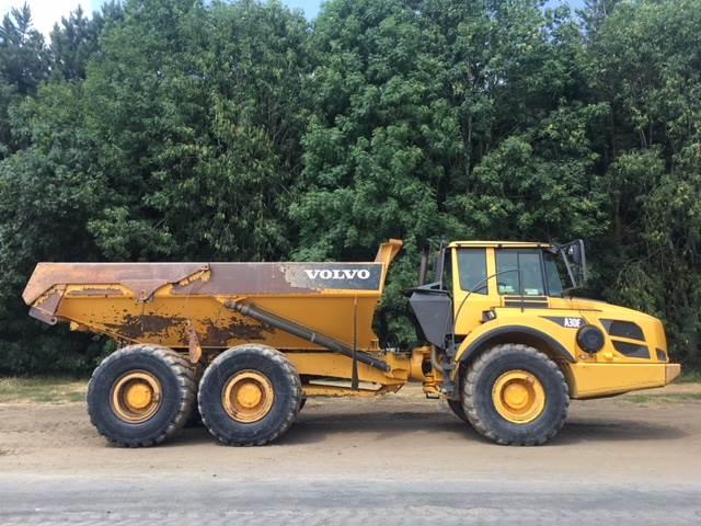 Used Dump Trucks >> Volvo A30f Articulated Dump Trucks Adts Construction Volvo