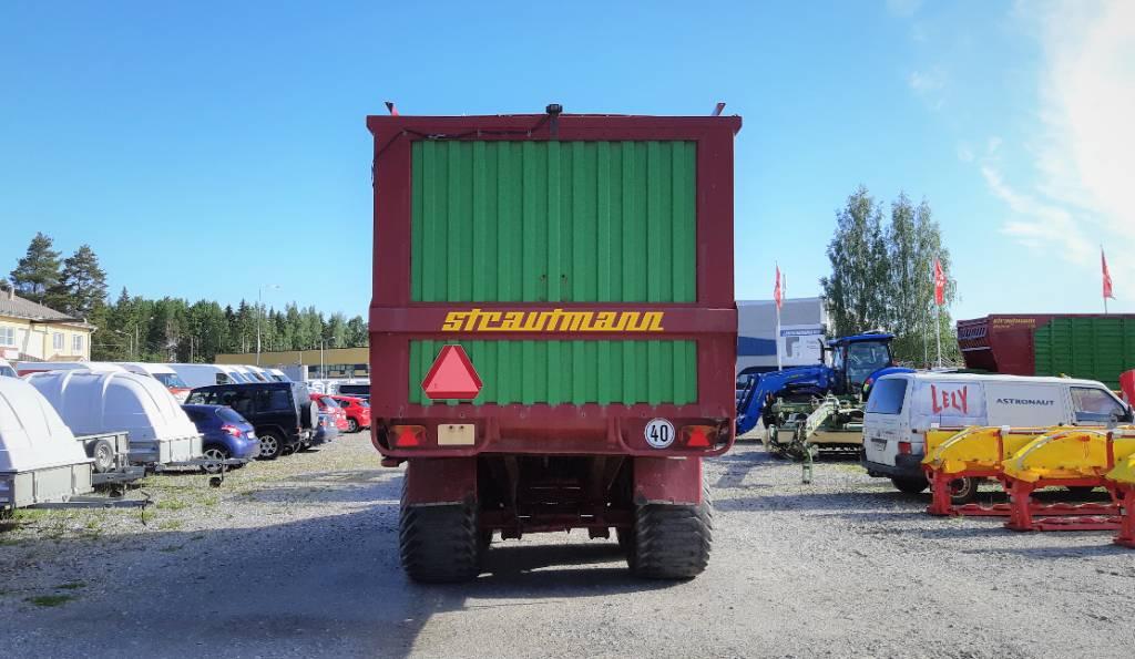 Strautmann GigaVitesse II, Keräävät noukinvaunut ja silppurivaunut, Maatalous