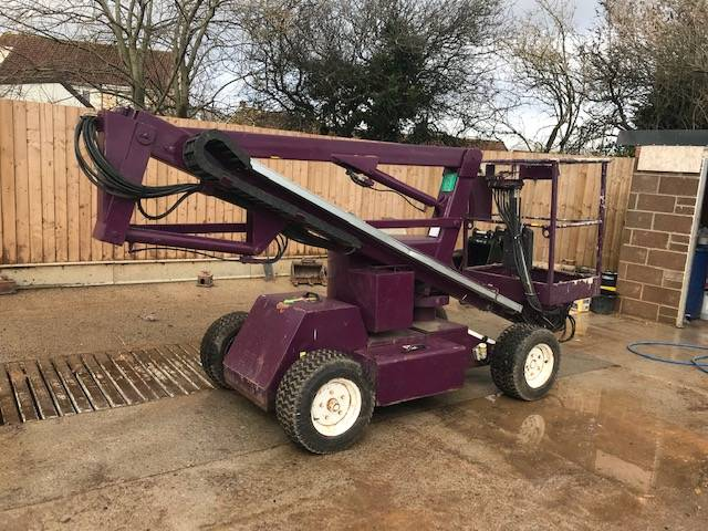 Niftylift HR 12 N D E, Articulated boom lifts, Construction