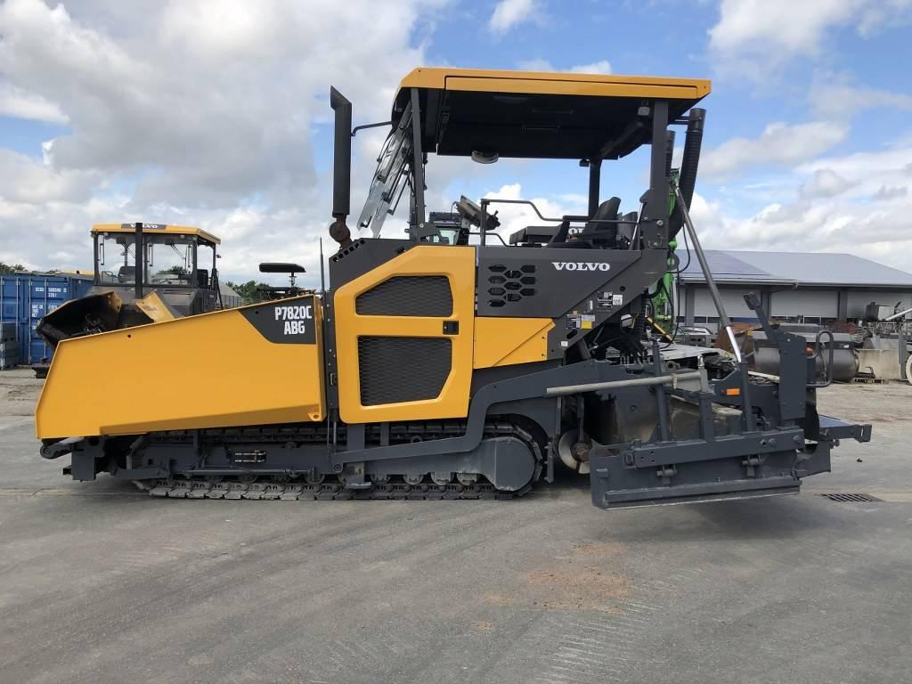Volvo P 7820 C ABG, Asphalt pavers, Construction Equipment