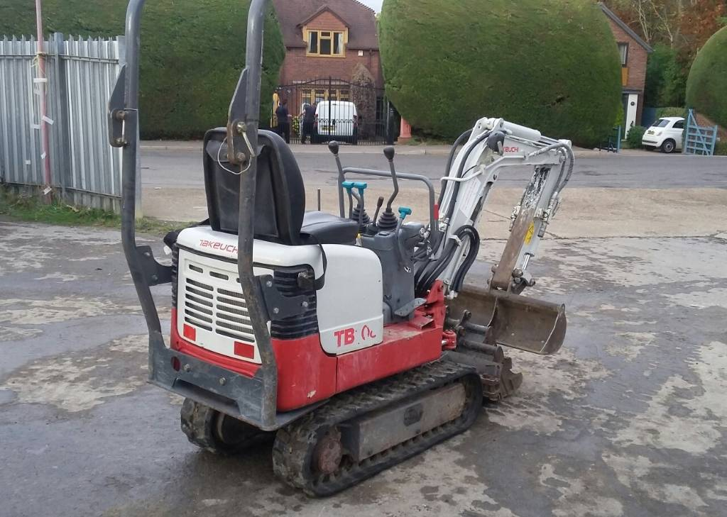 Takeuchi TB108, Mini excavators < 7t (Mini diggers), Construction