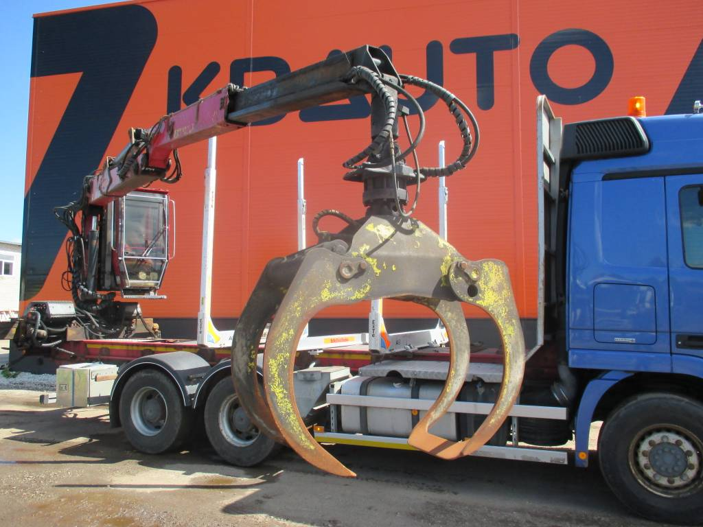 Jonsered 1080, Timber Cranes, Trucks and Trailers