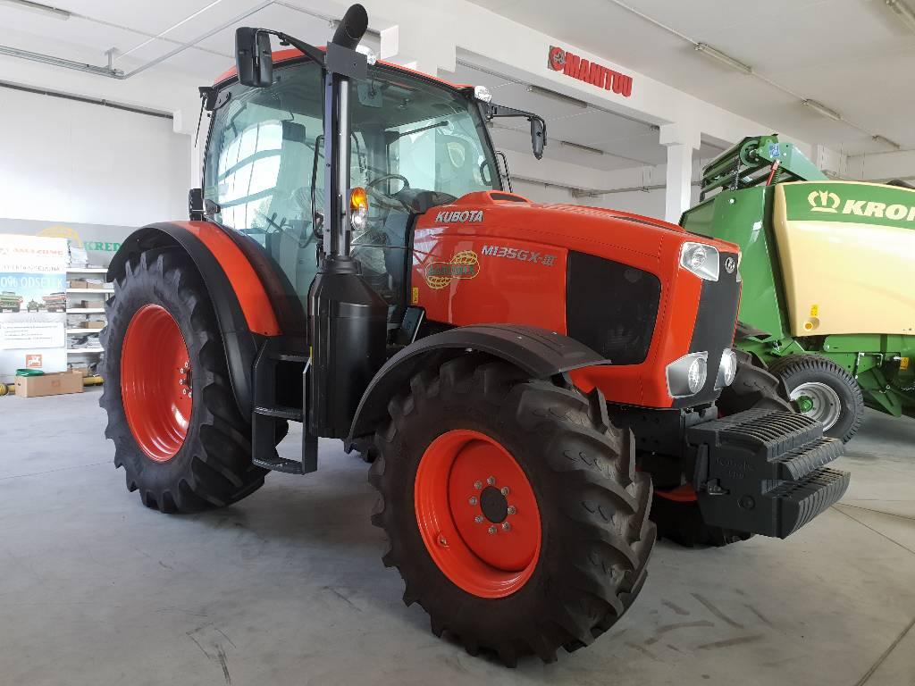 Kubota M135GXS III, Traktory, Maszyny rolnicze