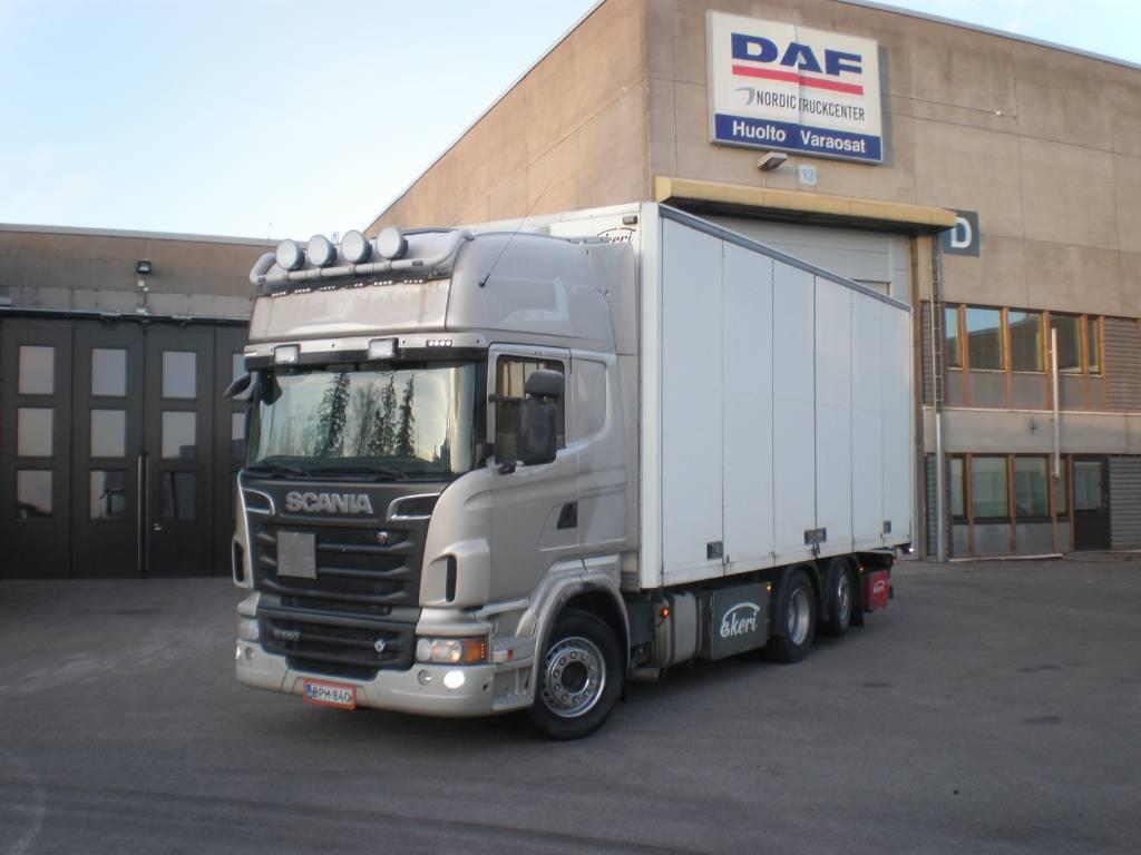 Scania R 560, Box trucks, Trucks and Trailers
