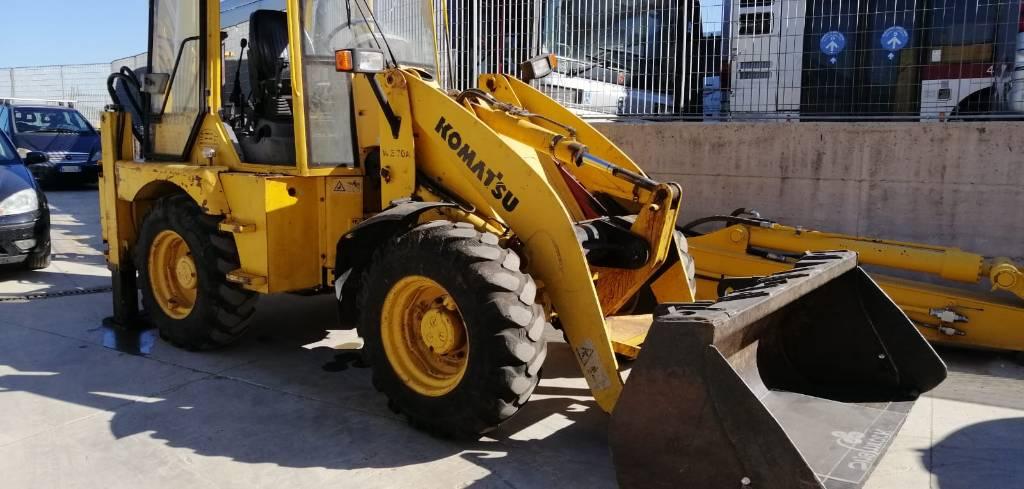 Komatsu WB70A, Backhoe Loaders, Construction Equipment