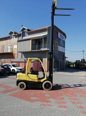 Hyster H 35 FT, LPG counterbalance Forklifts, Material Handling