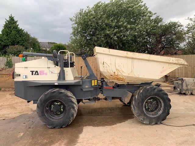 Terex TA 6S, Site dumpers, Construction