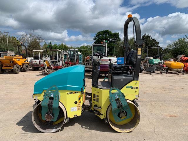 Ammann ARX 26, Twin drum rollers, Construction