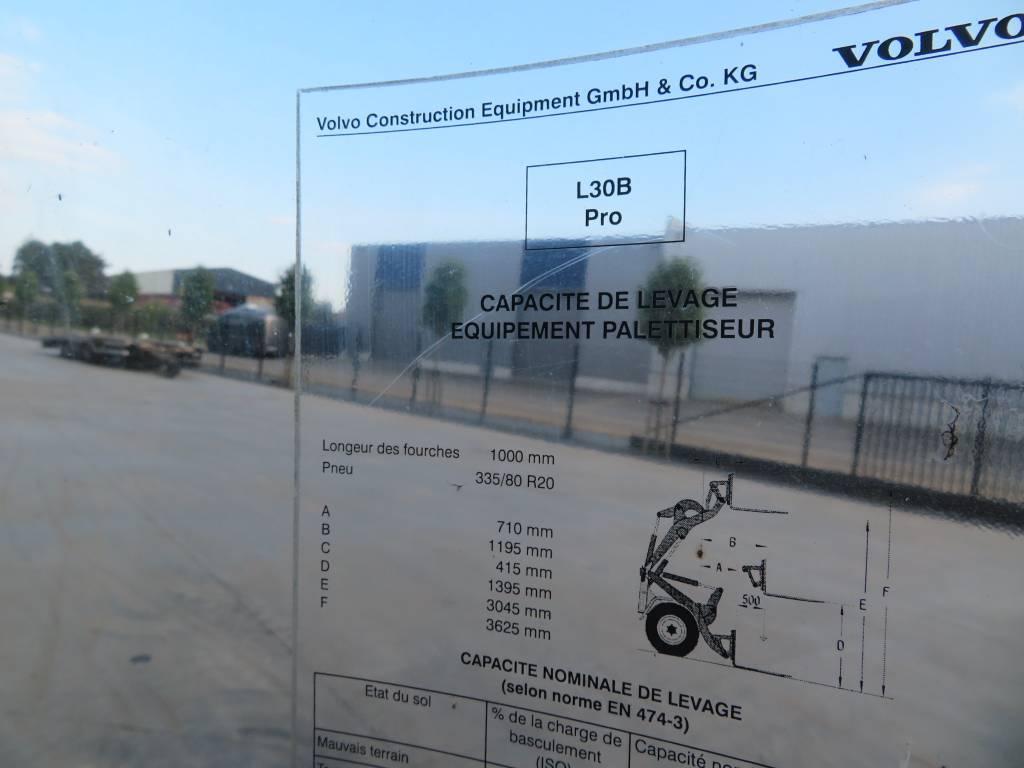 Volvo L 30 B / L35B, Cabine en interieur, Bouw