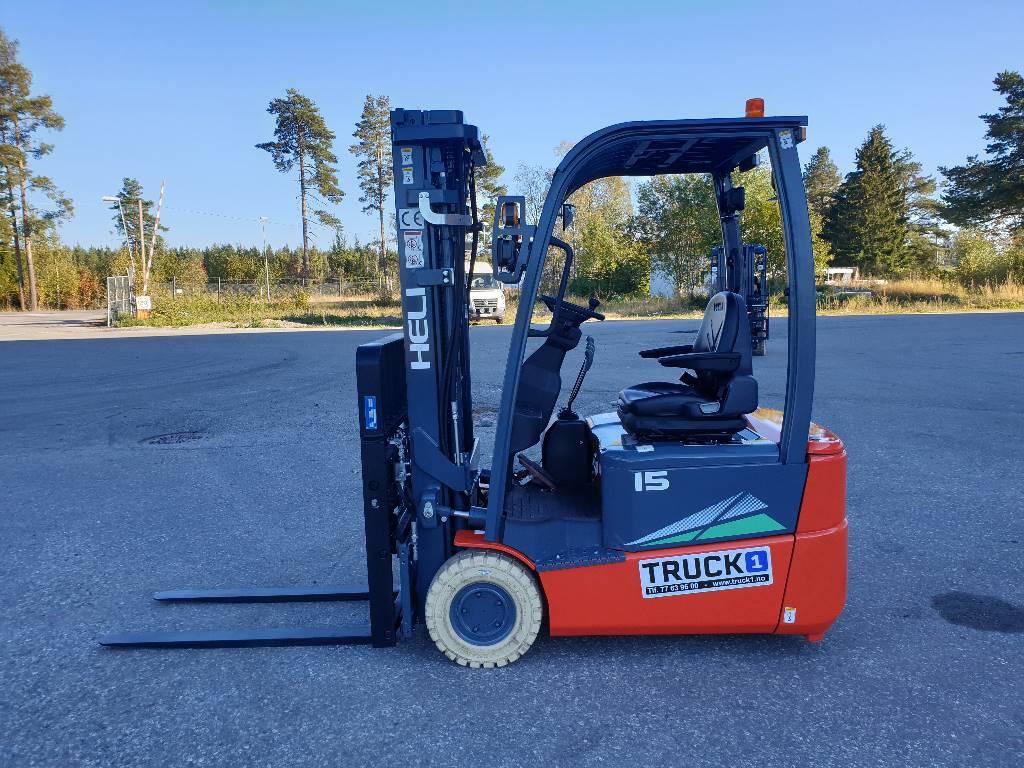 Heli CPD15SQ - 1,5 t el. truck - 4,7 m LH (SOLGT), Elektriske trucker, Truck