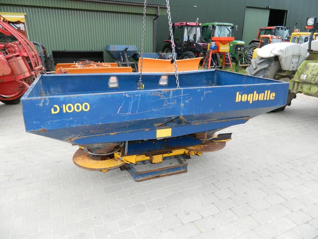 Bogballe D1000, Minerālmēslu izkliedētāji, Lauksaimniecība