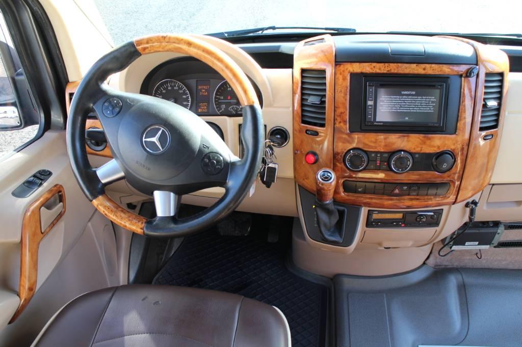 Mercedes-Benz Sprinter 519, Minibussit, Kuljetuskalusto