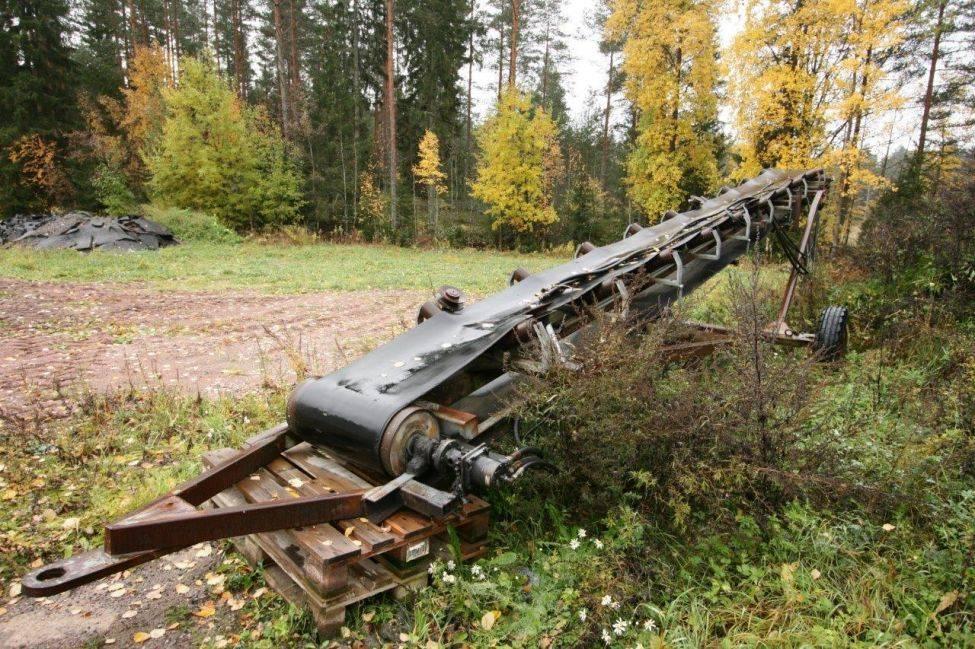 Powerscreen sorakuljetin 10M/60SM, Kuljettimet, Maarakennus