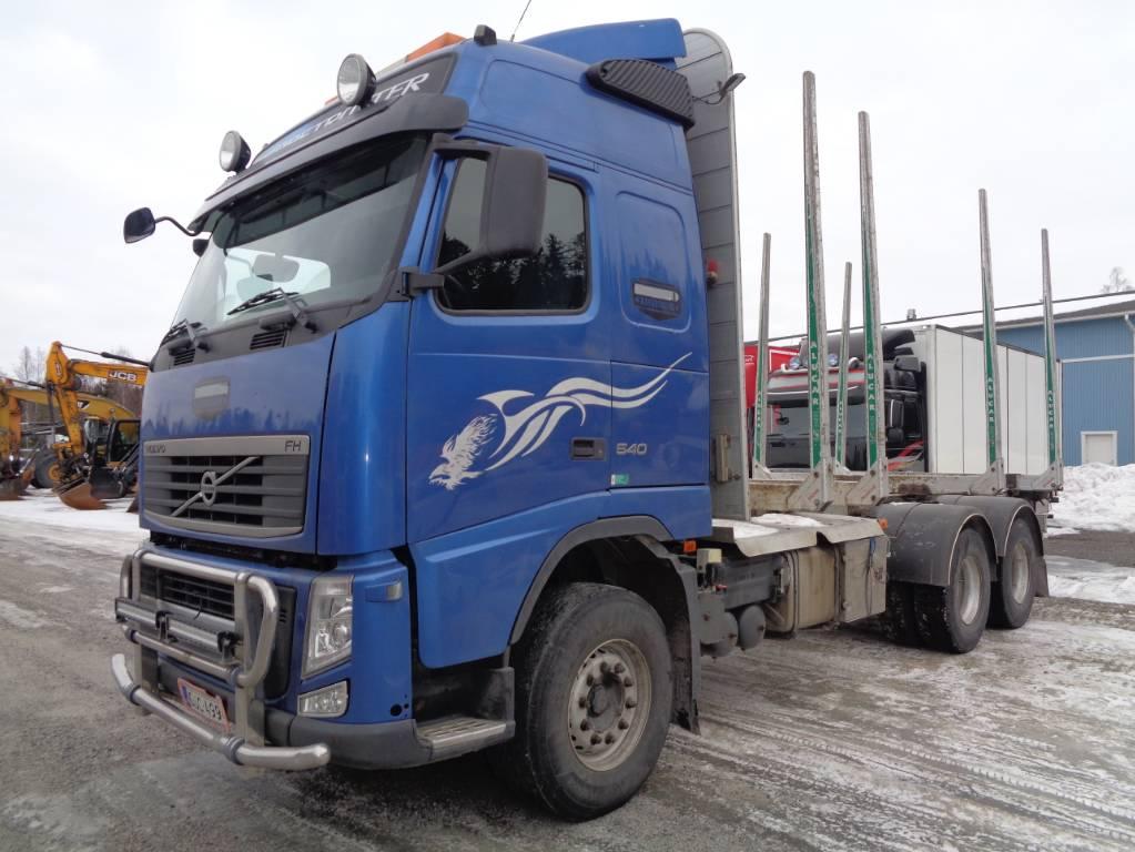 Volvo FH 13 6x4, Puuautot, Kuljetuskalusto