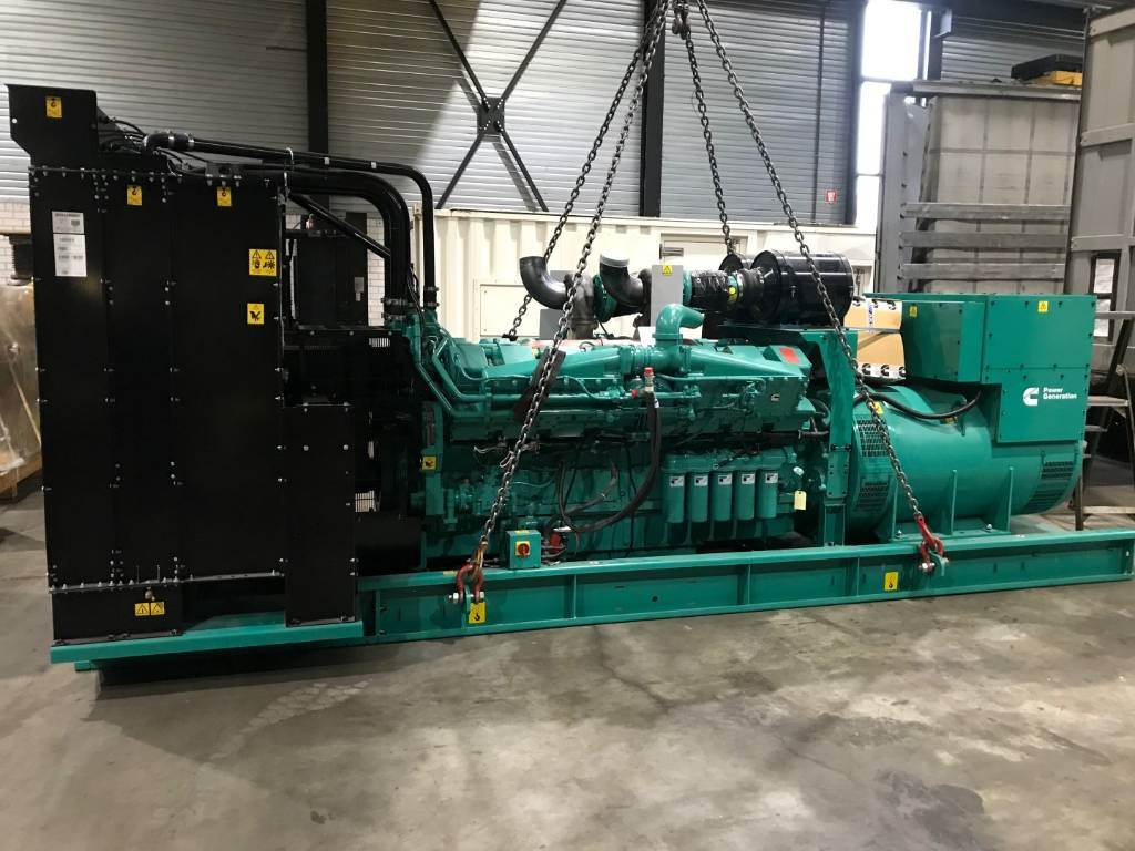 Cummins KTA-50-G8 - 1675 kVa - C1675D5 HIGH POWER, Diesel Generators, Construction