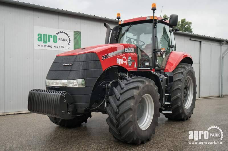 CASE Magnum 340 (3076 hours), 50 km h Powershift