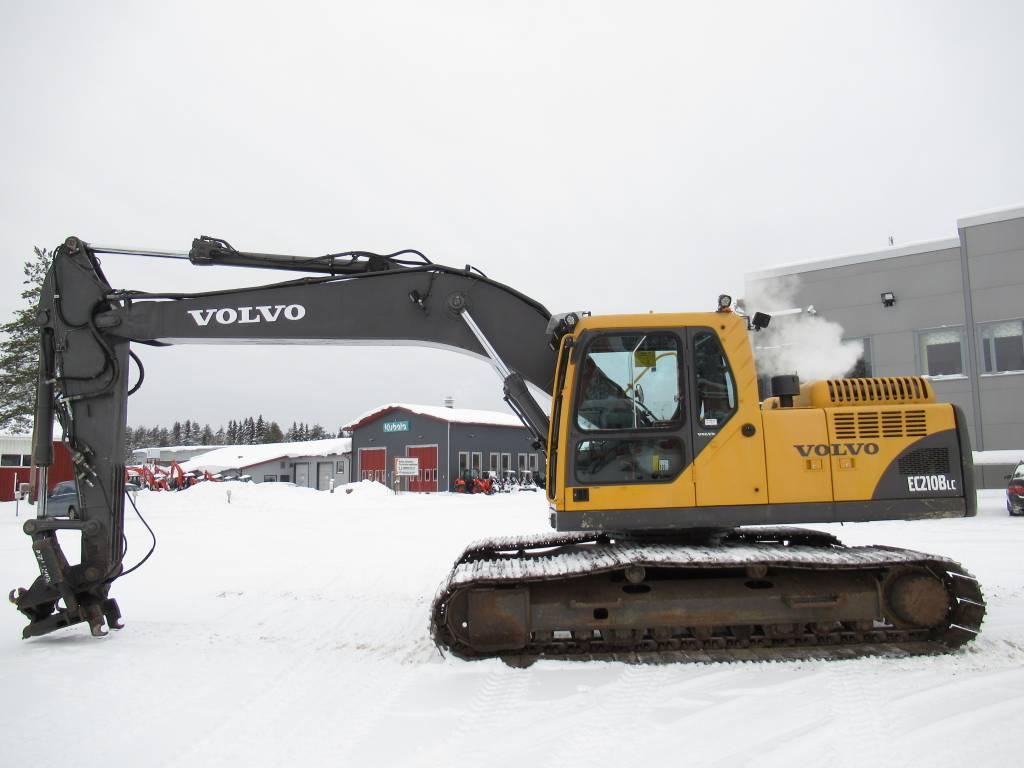 Volvo EC210BLC KALLISTAJALLA, Telakaivukoneet, Maarakennus
