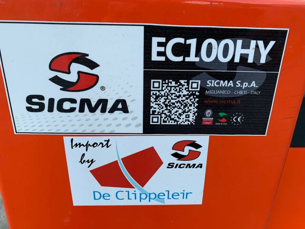 Sicma HY100 houtversnipperaar, Overige terreinbeheermachines, Tuin en Park