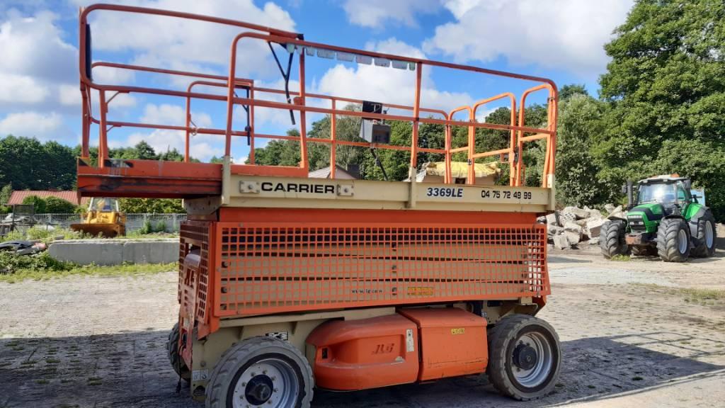 JLG 3369 LE, Podnośniki nożycowe, Maszyny budowlane