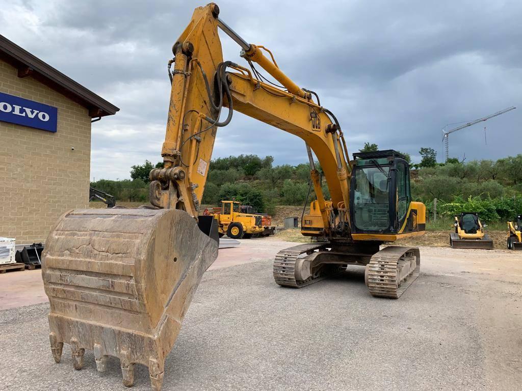 JCB JS 220, Crawler Excavators, Construction Equipment