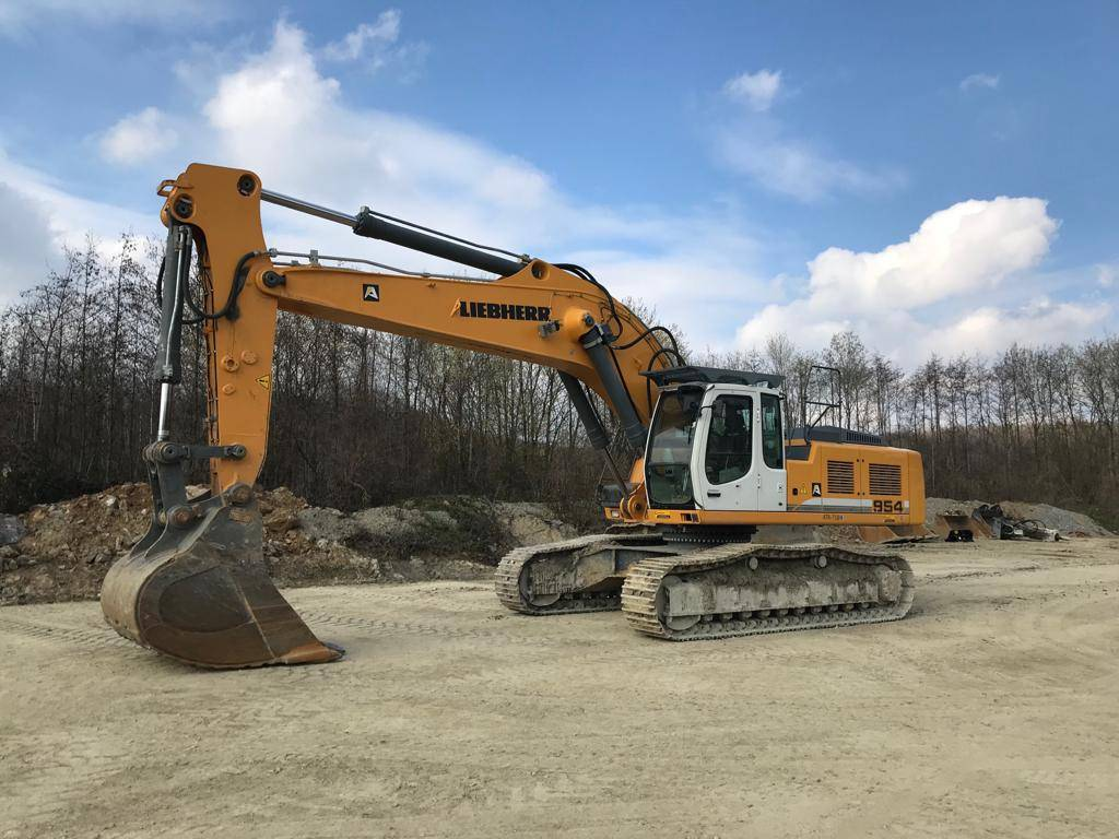 Liebherr R 954 C HD, Crawler excavators, Construction