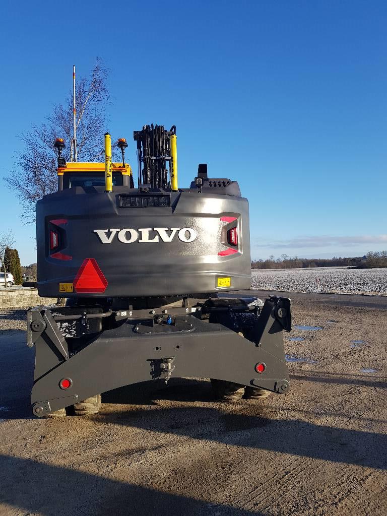Volvo EWR 150 E Fabriksny, Hjulgrävare, Entreprenad