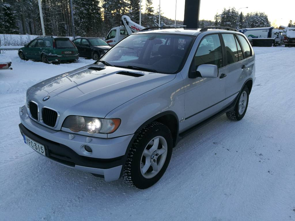 BMW X5 3.0d, Henkilöautot, Kuljetuskalusto