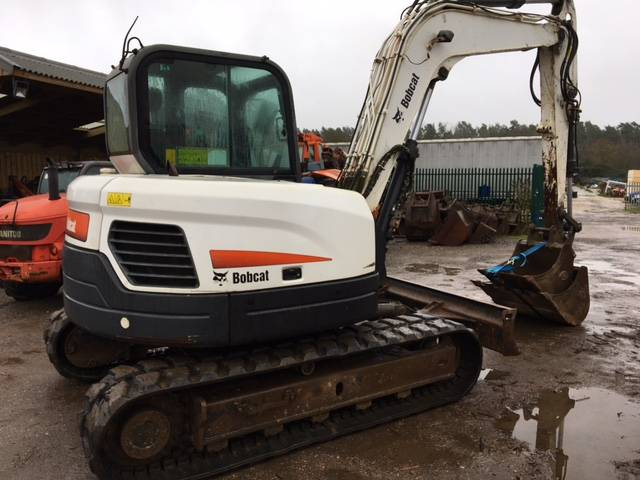 Bobcat E 80 EA, Midi excavators  7t - 12t, Construction